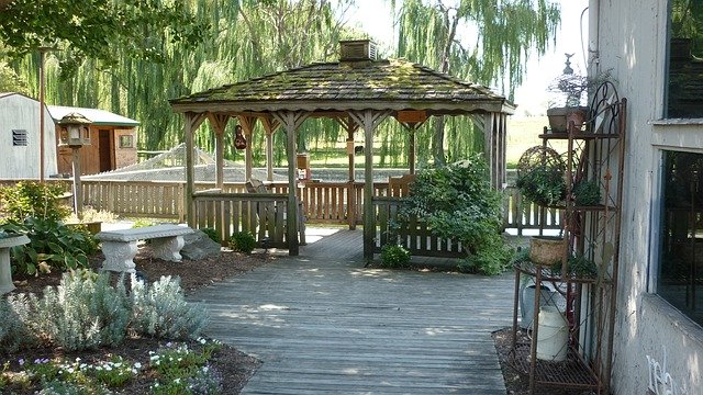 Beautiful Arbor for your backyard