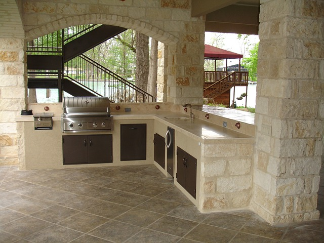 Beautiful outdoor kitchen for your home.